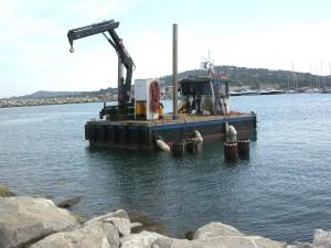 Barge BUCENTAURE VIII - Travaux Maritimes