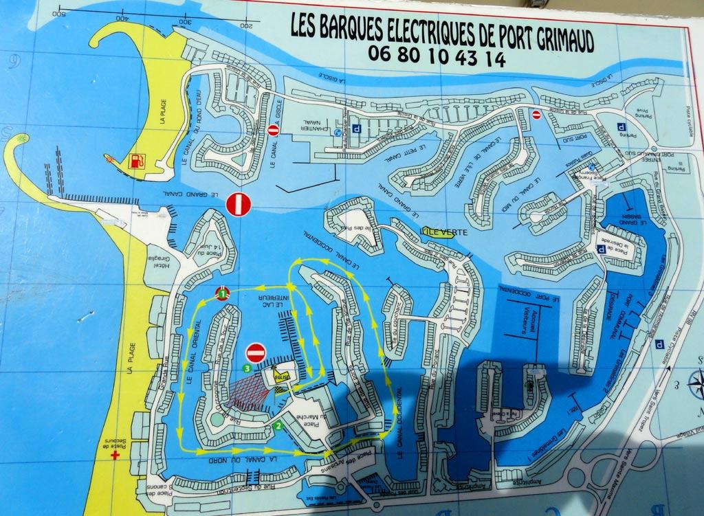 Location barques electriques hpco - Visiter port grimaud ...