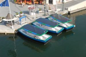 Les coches d'Eau Port Grimaud propulsés avec l'électricité