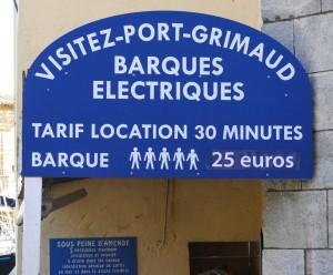 location barques electriques